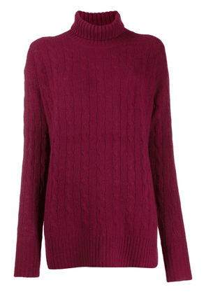 Polo Ralph Lauren oversized roll-neck sweater - Red