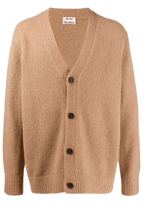 Acne Studios button up cardigan - Brown