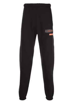 Heron Preston Uniform patch track pants - Black