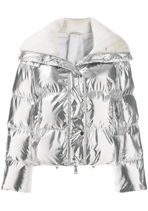 P.A.R.O.S.H. hooded padded jacket - Silver