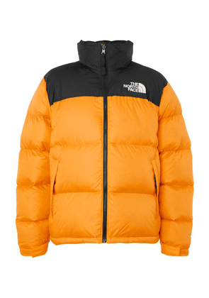 The North Face - 1996 Nuptse Quilted Shell Down Jacket - Orange