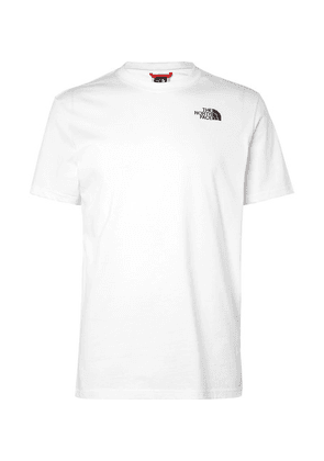 The North Face - Logo-print Cotton-jersey T-shirt - White
