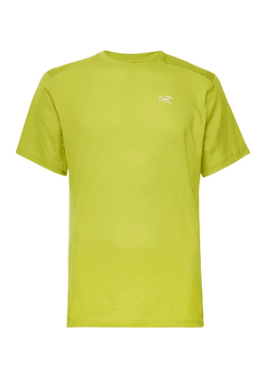 Arc'teryx - Velox Libro Base Layer - Chartreuse