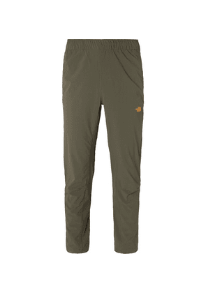 The North Face - Mountek Slim-fit Tapered Shell Trousers - Army green