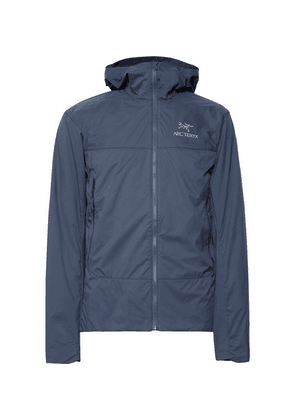 Arc'teryx - Atom Sl Slim-fit Padded Tyono And Stretch-jersey Hooded Jacket - Storm blue