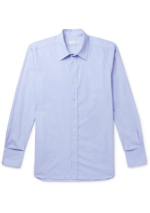 The Row - Keith Cotton Shirt - Blue