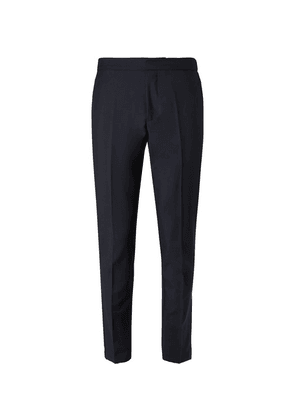 SALLE PRIVÉE - Midnight-blue Seph Slim-fit Wool And Mohair-blend Trousers - Midnight blue