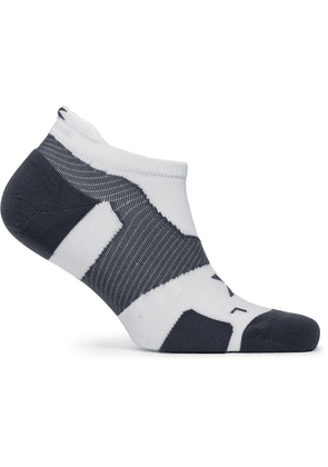 2XU - Vectr Cushioned No-show Socks - White
