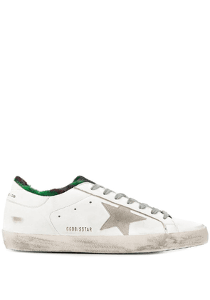 Golden Goose Superstar worn-effect sneakers - White