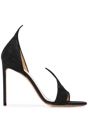 Francesco Russo pointed pumps - Black