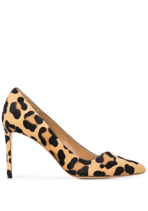 Francesco Russo leopard print pumps - Neutrals