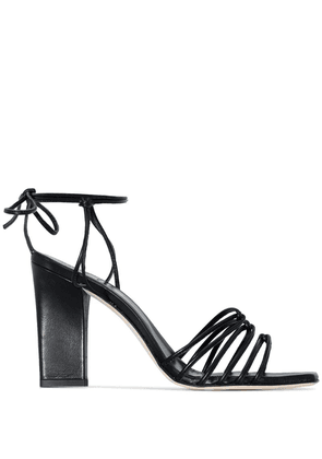 Aeyde Daisy strappy sandals - Black