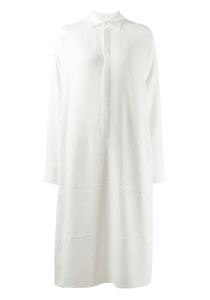 Dsquared2 belted shirt dress - White