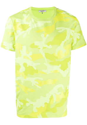 Valentino camouflage printed T-shirt - Green