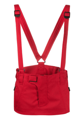 Dsquared2 mini skirt with suspenders