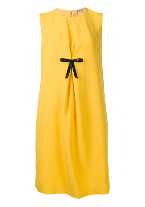 Nº21 bow front shift dress - Yellow