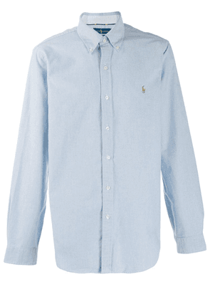 Ralph Lauren embroidered logo shirt - Blue