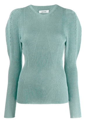 Circus Hotel ribbed knit sweater - Blue