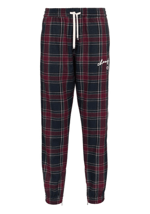 Champion checked joggers - Blue