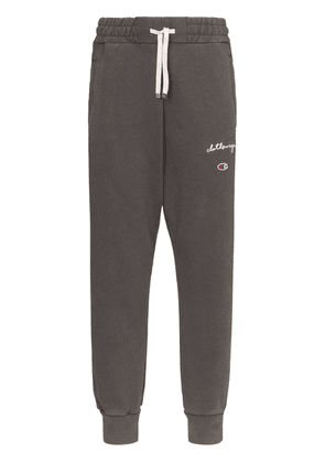 Champion embroidered-logo joggers - Grey
