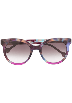 Ch Carolina Herrera oversized sunglasses - Pink