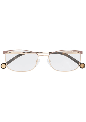 Ch Carolina Herrera rectangle frame glasses - Gold