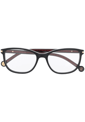 Ch Carolina Herrera rectangle frame glasses - Black