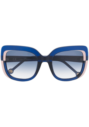 Ch Carolina Herrera oversized sunglasses - Blue