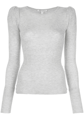 Autumn Cashmere knitted top - Grey