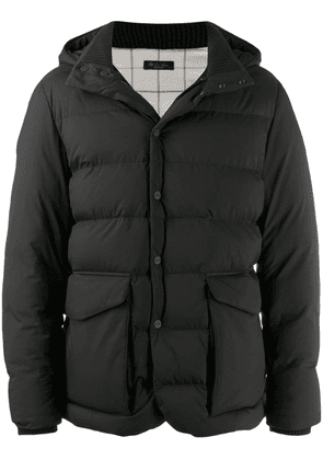 Loro Piana hooded padded jacket - Black