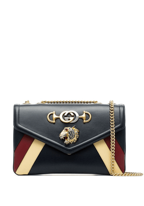 Gucci Rajah striped shoulder bag - Blue