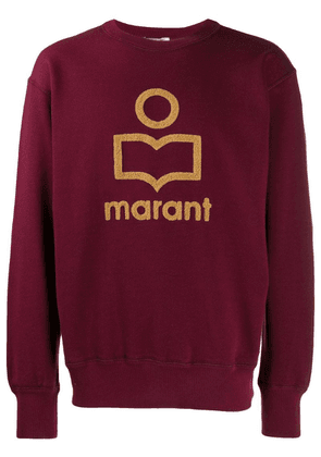 Isabel Marant embroidered logo sweatshirt