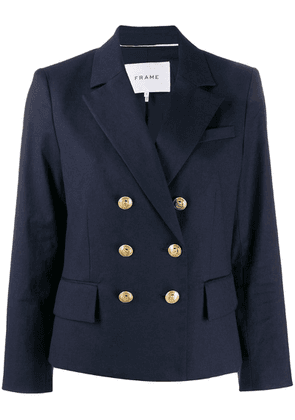 FRAME double-breasted blazer - Blue