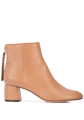Agl heeled ankle boots - Brown