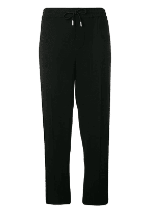 Dsquared2 embellished stripe track trousers - Black