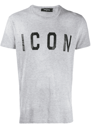 Dsquared2 Icon print T-shirt - Grey