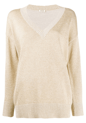 P.A.R.O.S.H. relaxed-fit sweater - Gold