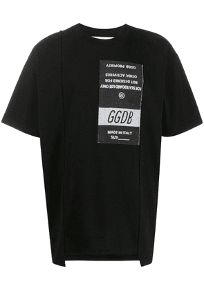 Golden Goose logo patch T-shirt - Black