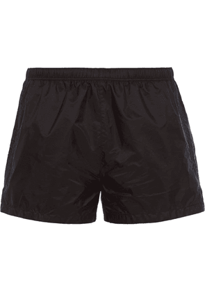 Prada nylon swim trunks - Black