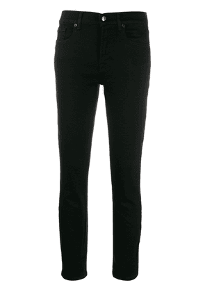 7 For All Mankind mid-rise skinny jeans - Black