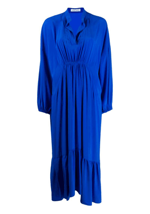 Christian Wijnants ruched shift dress - Blue