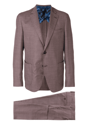 Etro two piece formal suit - Red