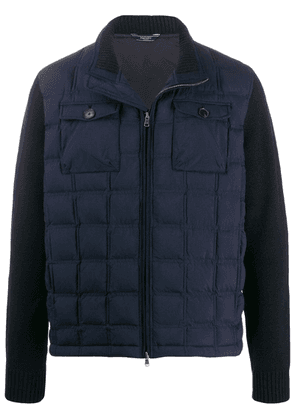 Hackett contrast padded jacket - Blue