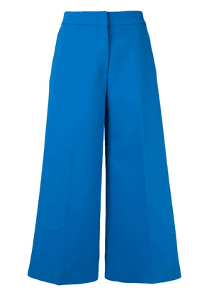 MSGM cropped trousers - Blue