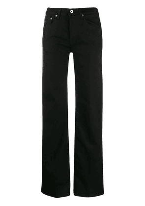 Dondup high-waisted straight-leg jeans - Black
