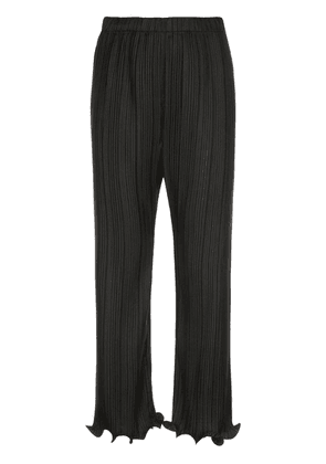 Givenchy ruffled pleated trousers - Black