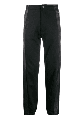 Givenchy logo knit band track trousers - Black