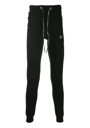 Philipp Plein stretch fit track pants - Black