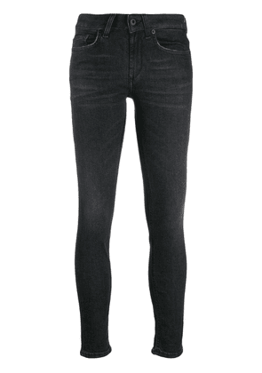 Dondup low-rise skinny jeans - Black