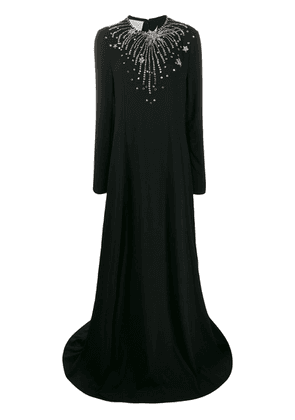 Gucci constellation evening gown - Black